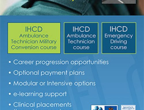 IHCD Training Poster for Pathfinder Magazine